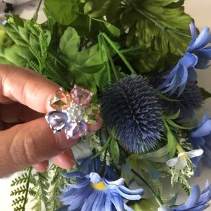 Jewelry - Sterling Silver Vintage Cubic Zirconia Ring